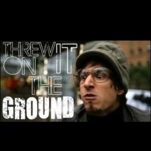 threw it on the ground